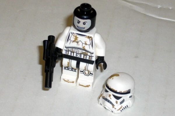 2012 LEGO Star Wars 9490 Droid Escape - Sandtrooper minifig