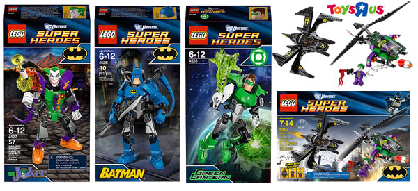 LEGO Superheroes DC Universe @ Toys R Us USA
