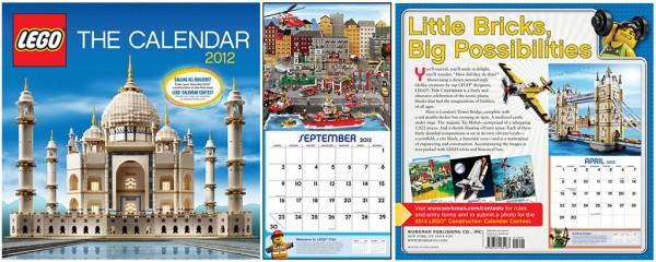 LEGO  2012 : The Calendar