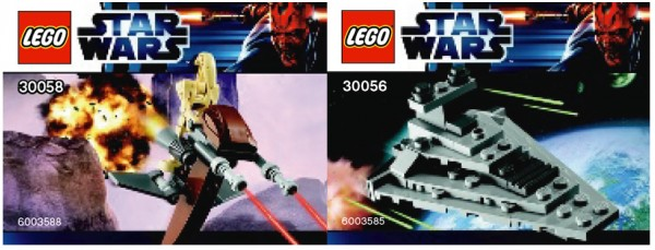 30056 Star Destroyer & 30058 STAP