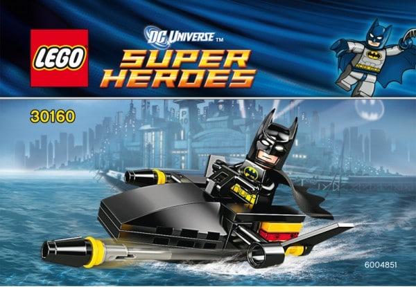 LEGO Super Heroes DC Universe - 30160 Batman on jetski