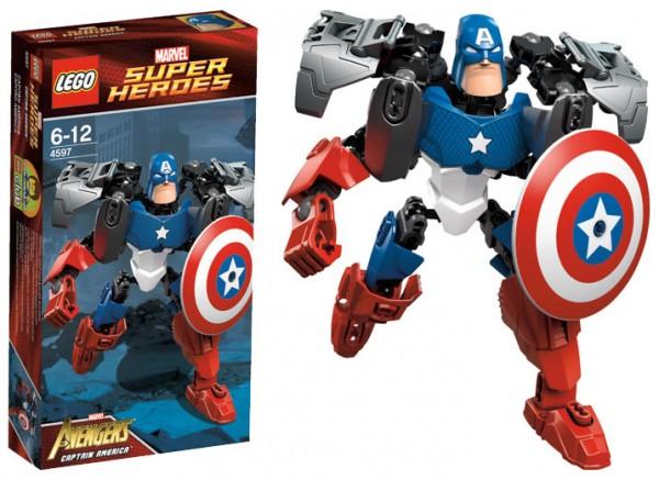 4597 – LEGO Super Heroes Marvel Avengers - Captain America