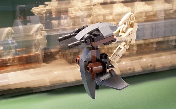 Custom LEGO STAP Droid par CAB & Tiler