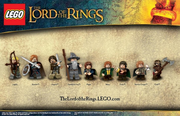 LEGO Lord of the Rings - Fellowship of the Ring - La Communauté de l'Anneau