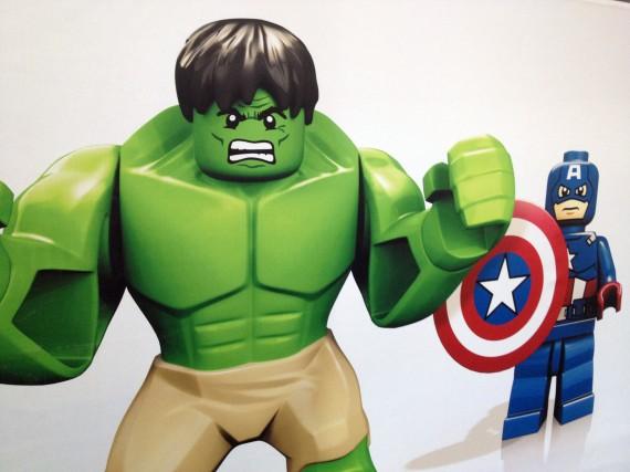 London Toy fair 2012 - LEGO Marvel Avengers