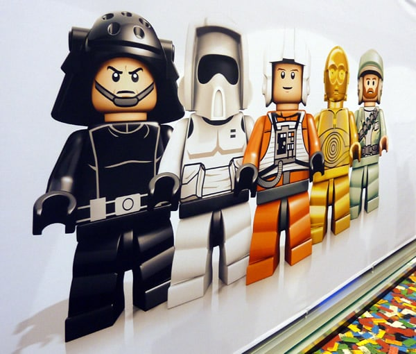 LEGO Star Wars @ London Toy fair 2012