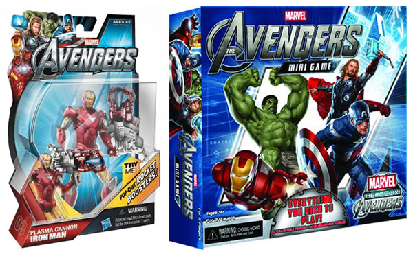Official The Avengers Merchandise Packaging