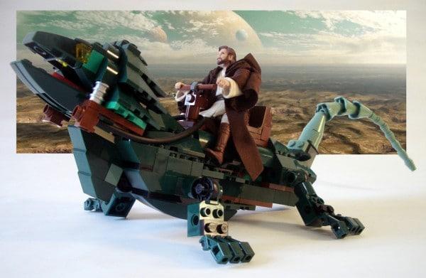 Obi-Wan Kenobi Boga par Omar Ovalle