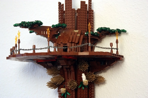 Ewok Treehouse par hohesC