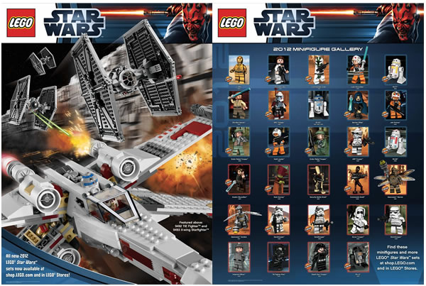 LEGO 2012 Minifigs Poster