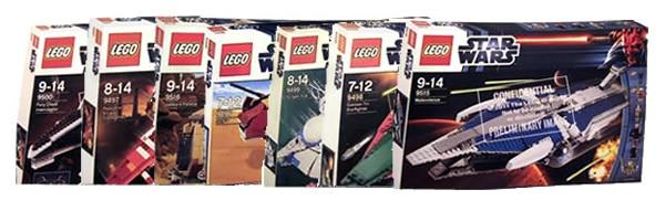 LEGO Star Wars June 2012