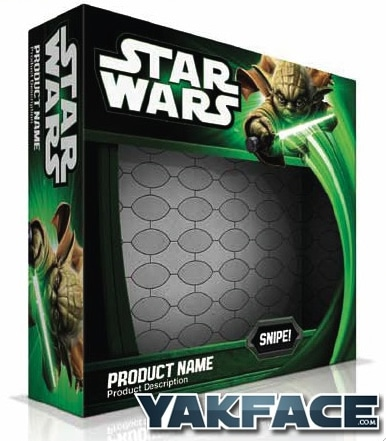Nouveau packaging officiel Star Wars 2013