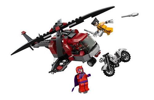 LEGO Super Heroes Marvel 6866 Wolverine's Chopper Showdown