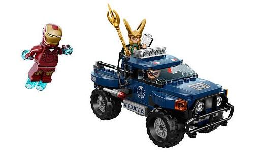 LEGO Super Heroes 6867 Loki's Cosmic Cube Escape