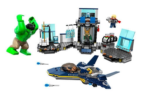 LEGO Super Heroes 6868 Hulk's Helicarrier Breakout