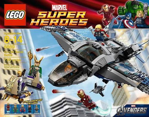 LEGO Super Heroes 6869 Quinjet Aerial Battle
