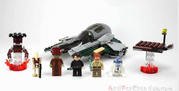 9494 Anakin's Jedi Interceptor par Artifex