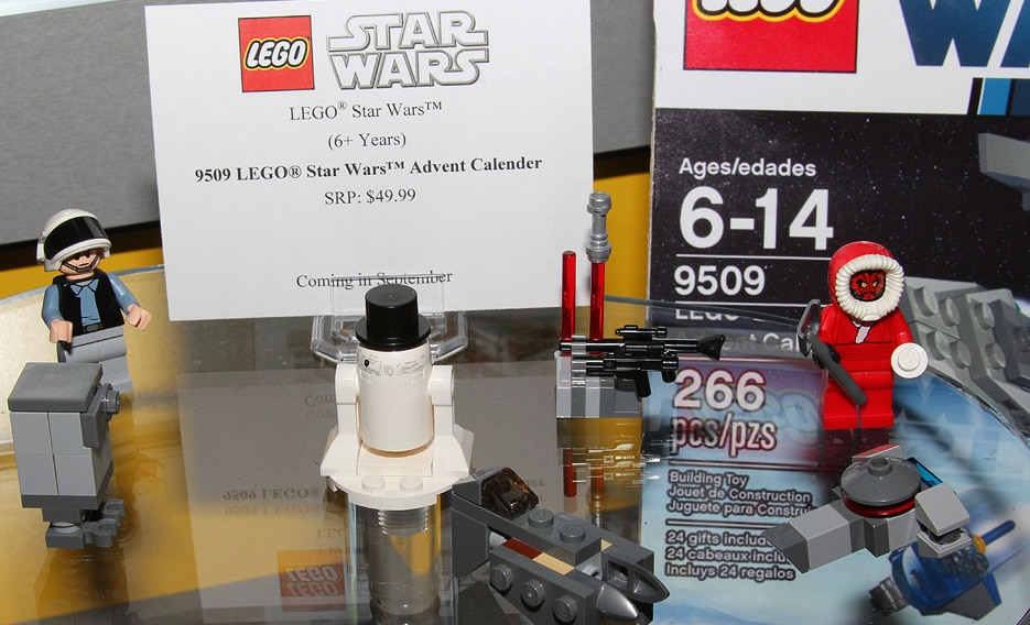 lego star wars advent calendar 2012 instructions