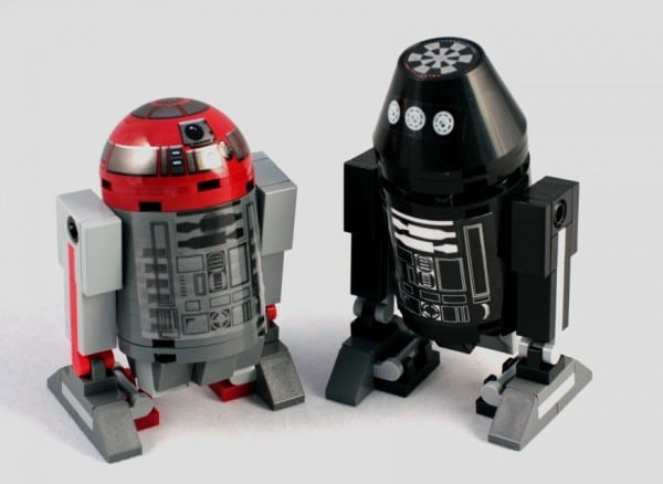 Star Wars Constructable Collectible Astromech Droids LEGO CUUSOO project par SPARKART!