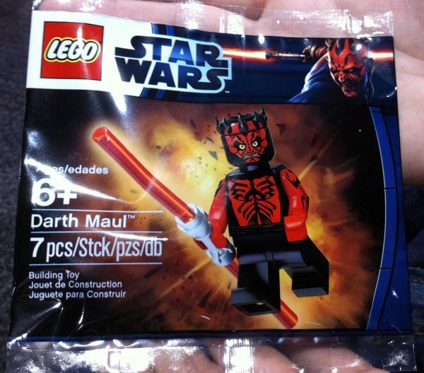 New York Toy Fair 2012 - Darth Maul Exclusive Minifig