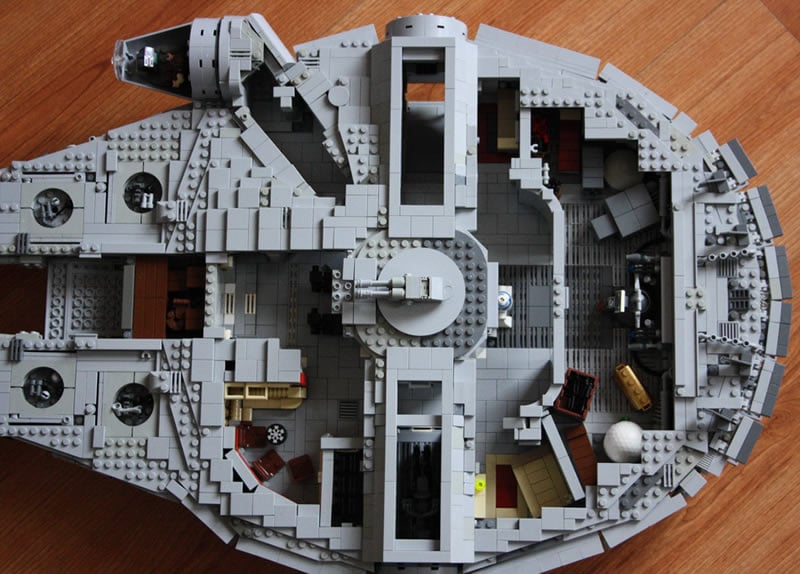 Mocs hoth bricks for Interieur faucon millenium
