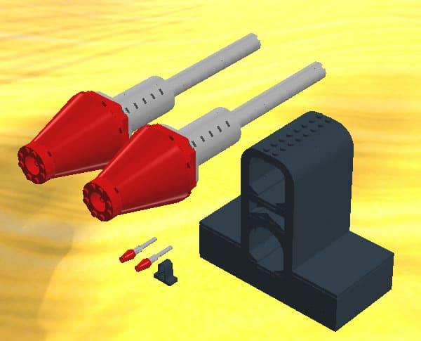 UCS Flick Fire Missile par StoutFiles