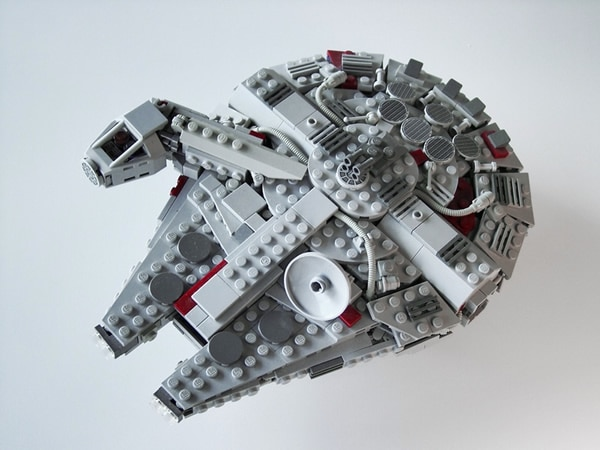 King_Arthur Midi Millennium Falcon instructions