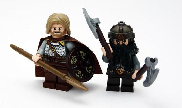 Warrior of Rohan & Dwarf Warrior par JasBrick