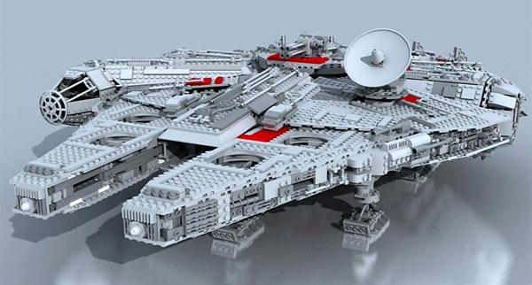 LEGO Star Wars 10179 UCS Millennium Falcon (Rendu 3D)