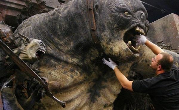 Moria Cave Troll Movie Prop
