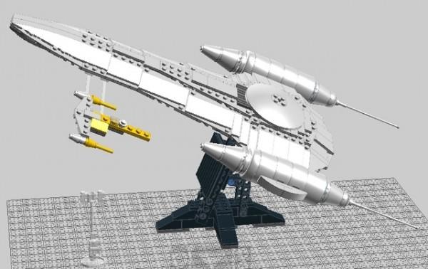 UCS Naboo Royal Starship par Anio