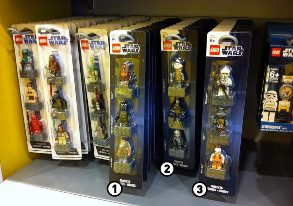 Nouveaux sets de magnets Star Wars