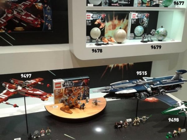 Nuremberg Toy Fair 2012 - LEGO Star Wars
