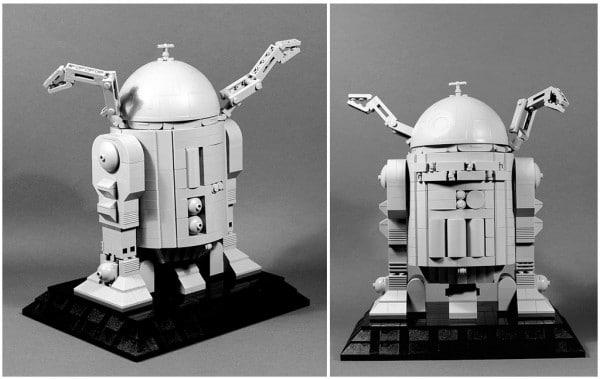 Star Wars Ralph McQuarrie R2-D2 Concept par SPARKART!