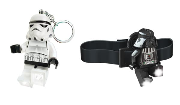 Stormtrooper Key Light & Darth Vader Head Lamp