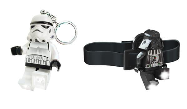 Stormtrooper Key Light & Darth Vader Head Lamp
