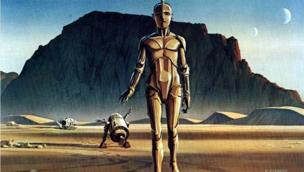 Ralph McQuarrie R2-D2 Concept Artwork