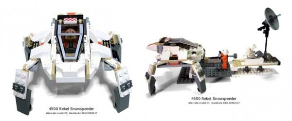 4500 Rebel Snowspeeder Alternate Model 01 par Nicholas Foo