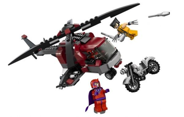6866 Wolverine's Chopper Showdown
