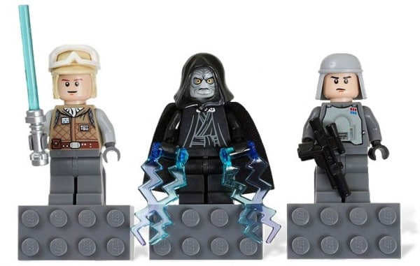Luke Skywalker (Hoth), Emperor Palpatine, Imperial Officer