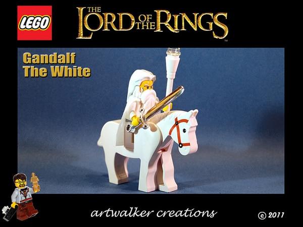 artwalker_ts Lord of the Rings custom minifigs