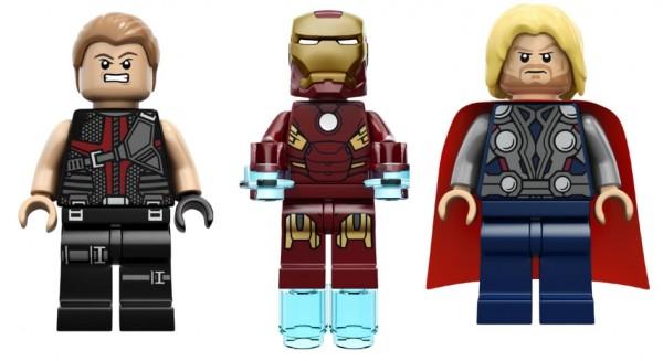 LEGO Super Heroes Marvel - Hawkeye, Iron Man & Thor