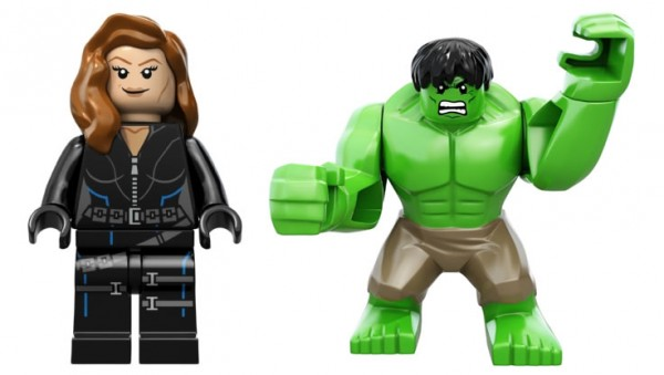 LEGO Super Heroes Marvel - Black Widow & Hulk
