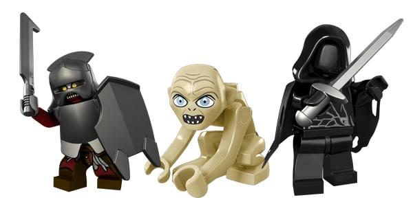 thelordoftherings.lego.com - Uruk-Hai, Gollum & Ringwraith