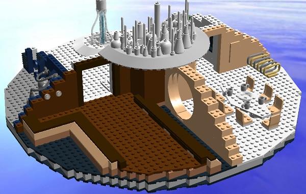 Cloud City Playset par StoutFiles (LDD)