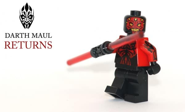Darth Maul Returns Custom Minifig - Green Pea Toys