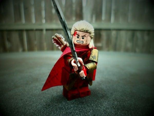 Haldir Custom Minifig  (Lord of the Rings) par Grant Me Your Bacon!