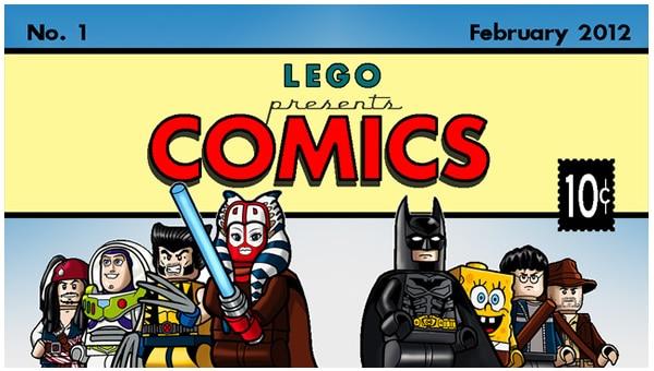 LEGO Cuusoo : Comics! Comics! Comics!