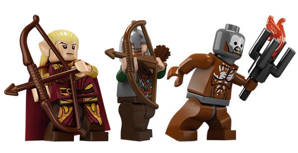 thelordoftherings.lego.com - Haldir, Eomer & Berserker Uruk-Hai