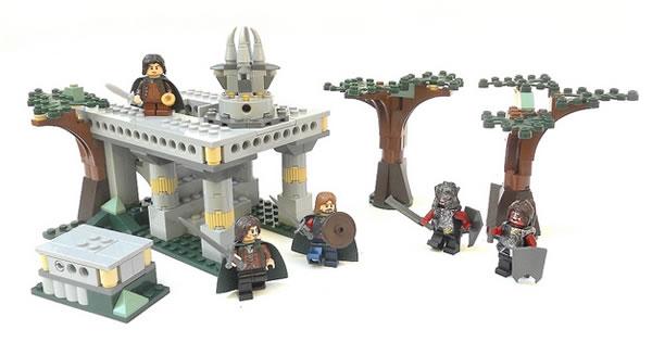 The Fellowship of the Ring : Ambush at Amon Hen par Nuju Metru